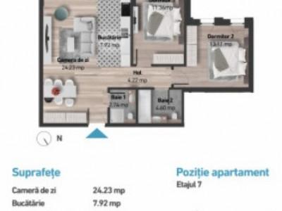 Apartamente de 3 camere imobil nou Zorilor