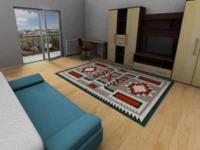 apartament 1 camera confort sporit , zona liceului Edmond Nicolau