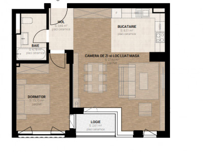 Apartament imobil nou 2 camere zona Garii