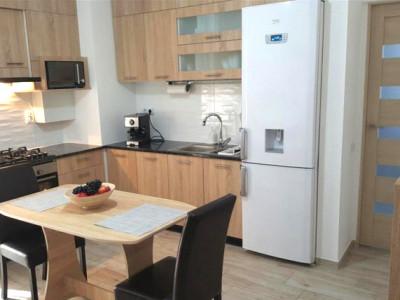 Apartament living cu bucatarie, dormtior, imobil nou Gheorgheni